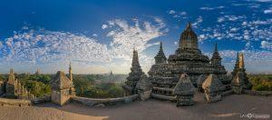 Shwegugyi Temple Bagan Myanmar Burma panoramic photography virtual reality tour