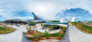 Planétarium Olympic stadium Montreal stade tour olympique parc panoramic photography virtual reality tour