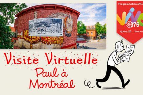 Paul montreal montréal michel rabagliati visite virtuelle panoramic photography virtual reality tour