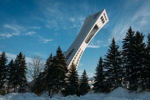 Olympic stadium Montreal stade tour olympique parc panoramic photography virtual reality tour