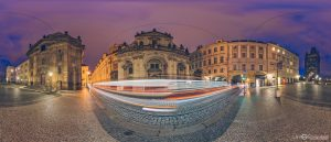Old Town and Tower Bridge in Czech Republic Virtual Reality tour