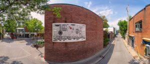 paul a montreal rue michel rabagliati tam tam BD expostion montréal visite virtuelle photo 360 tours lavoie vr virtual reality