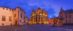 St. Vitus Cathedral Prague panorama photography