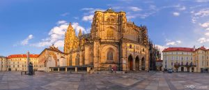 St. Vitus Cathedral Third Courtyard at Prague Castle