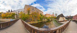 Castle Chateau in Cesky Krumlov in Czech Republic Virtual Reality Tour by Jean-Pierre Lavoie