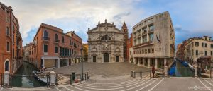 Church di san Moise in Venice northern Italy Virtual Reality Tour by Jean-Pierre Lavoie