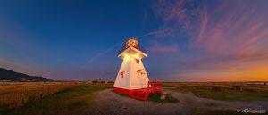 Phare de Carleton-sur-Mer en Gaspésie en visite virtuelle